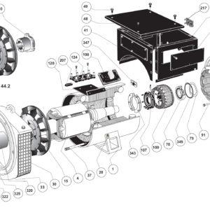Запасные части синхронных генераторов LSA 43.2